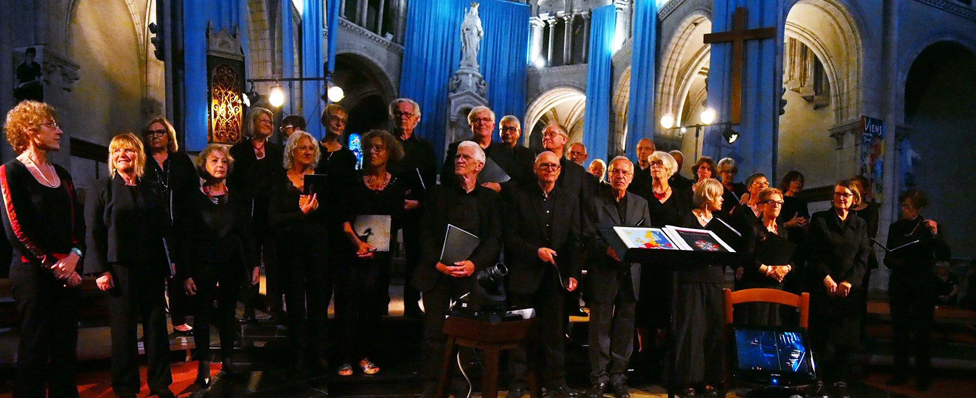 Chorale Cysoing en Chœur  - Vendredi 15 juin 2018 à Arras - Eglise Notre Dame des ardents