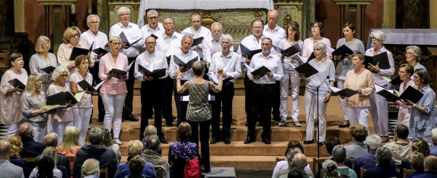 Chorale Cysoing en Chœur - Juin 2019 - concert église Ste Calixte - Cysoing