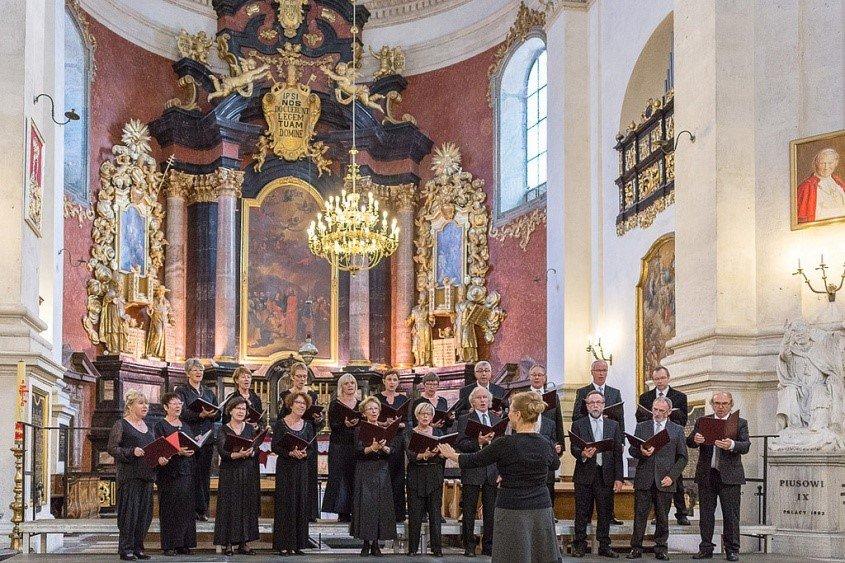 Chorale Cysoing en Chœur - Cracovie - Eglise St Pierre-St Paul 2014