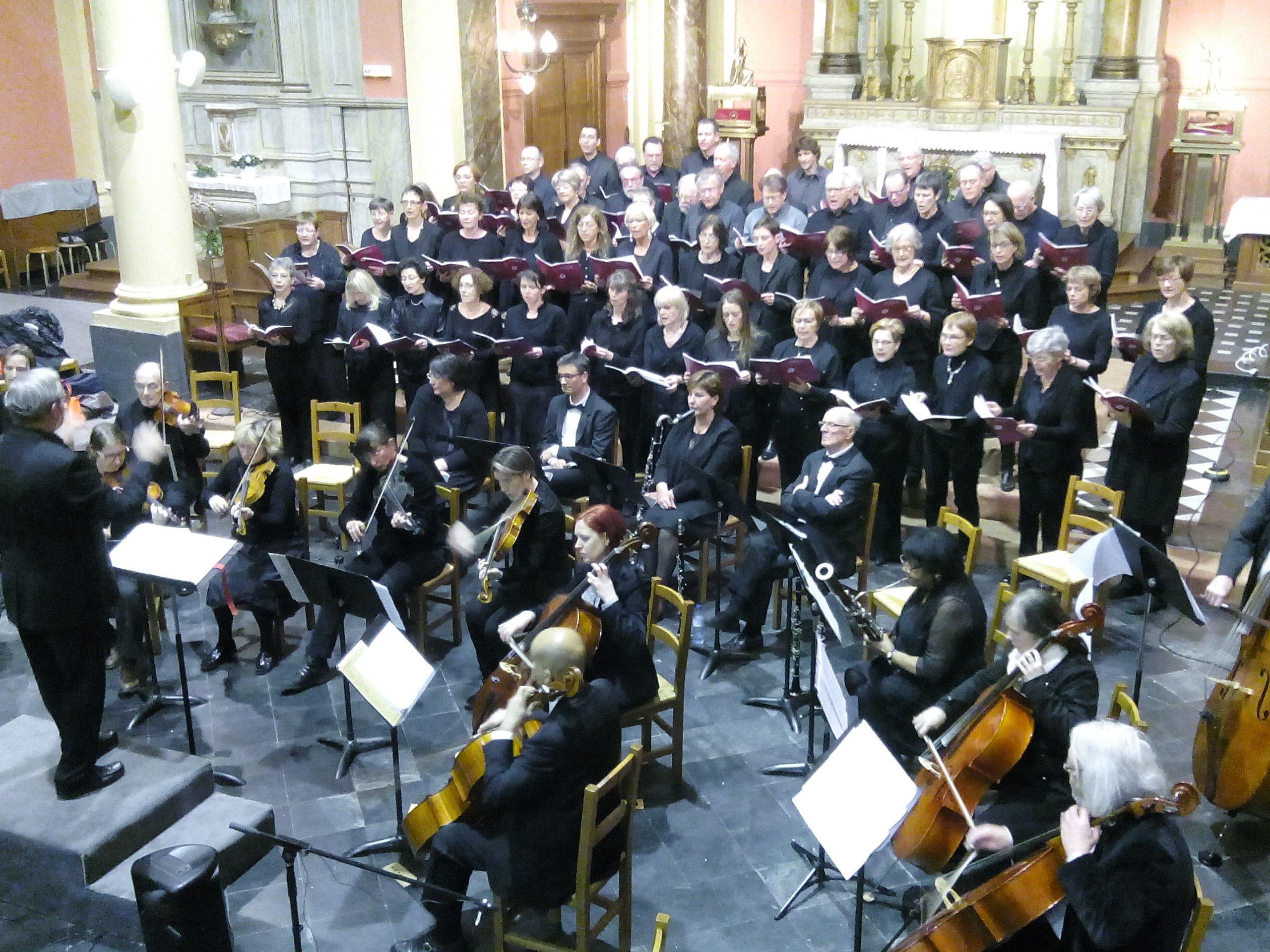 Chorale Cysoinf en Chœur - Avec L'Hamadryade et l'Orchestre de chambre de Villeneuve d'Ascq Concert à l'église de Flers Bourg - Mars 2017