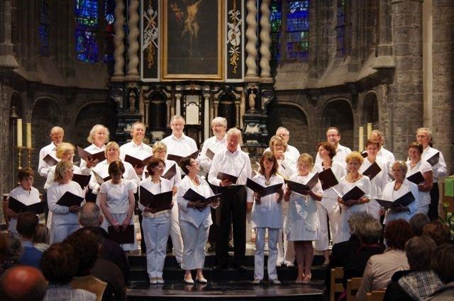 Chorale Cysoing en Chœur - Eglise St Piat de Tournai - 2010